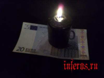 денежная порча