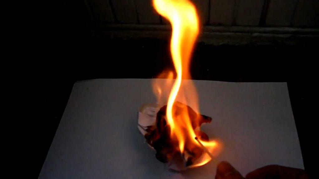 Приворот на огонь сжечь фото