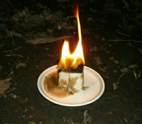 Жировой светильник для наведения порчи нутрянки на человека